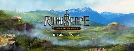 Runescape Beta Programme banner