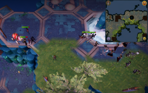 Scan clue Heart of Gielinor north of The Heart (left side)