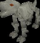 Skeletal hellhound