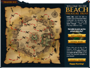 Treasure Map (Summer Beach Party) (Incomplete) interface