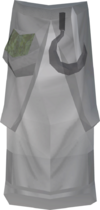 Ghostly druid robe bottom detail