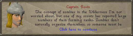 Kapitein rovin die praat over sombies