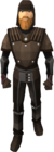 Leather armour equipped old