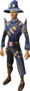 Master runecrafter robes equipped