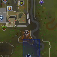 Shooting Star (south-east of Varrock) location