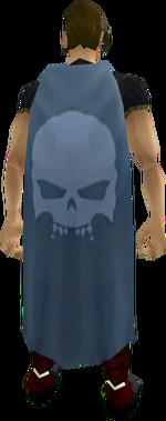 Skulls cape equipped