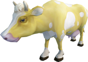 Vanilla cow (monster)