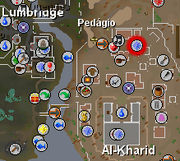 Ali Morrisane mapa
