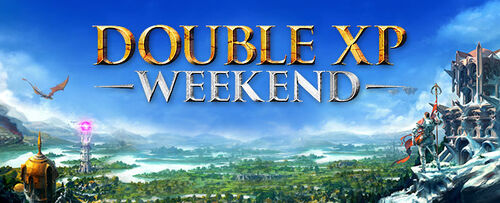 Double XP Weekend - November 2018! update post header