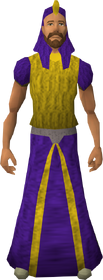 Menaphite clothing (purple, robe) equipped