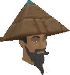 Pyramid hat chathead