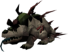 Rastejador das cavernas monstruoso