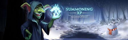 SoF Summoning XP banner