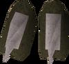 Spiky vambraces detail