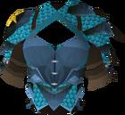 Blessed dragonhide body (Saradomin) detail