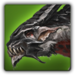 Dragon Wolf adult Solomon icon