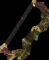 Elder shortbow detail