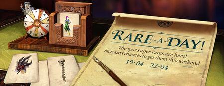 Rare A Day banner