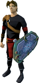 Shield of Arrav (Dimension of Disaster Curse of Arrav) equipped