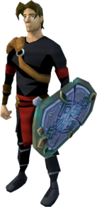 Shield of Arrav (Dimension of Disaster Curse of Arrav) equipped