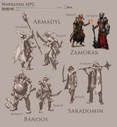 Warbands concept art