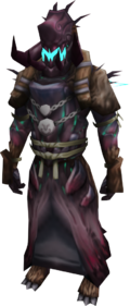 Warpriest of Tuska armour equipped