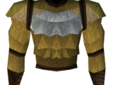 Werewolf torso (gold, male)