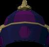 Wushanko hat (red) detail