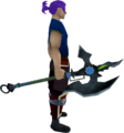 Augmented Dharok's greataxe equipped.png