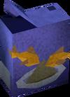 Empty box (fish) detail