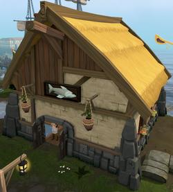 Harry's Fishing Shop exterior