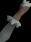 Off-hand dagger (class 4) detail