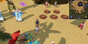 Sandy Clue Scroll Flo