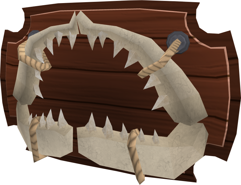 Shark jaw runescape wiki fandom powered by wikia