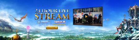 GameBlast 2015 Livestream head banner