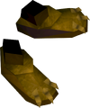 Golden warpriest of Bandos boots detail