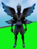 Gossamer Outfit equipped (male)