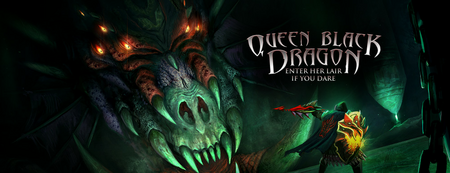Queen Black Dragon Banner
