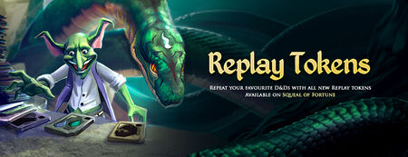 Replay Tokens banner