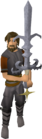 Saradomin godsword equipped old