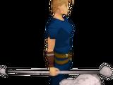 Skull sceptre