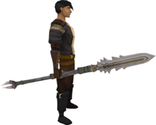 Sunspear (magic) equipped
