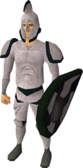 Third-age melee armour equipped