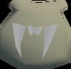 Vampyre bat pouch detail