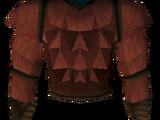 Werewolf torso (red, male)