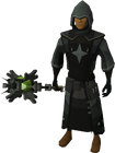 Akrisae the Doomed's set equipped