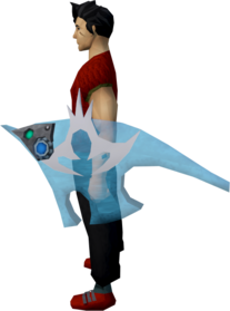 Augmented elysian spirit shield equipped