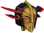 Black Knight captain's helm chathead