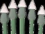 Diamond bolts (e)