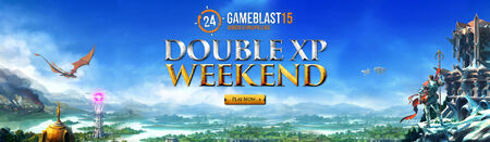 GameBlast 2015 Double XP head banner